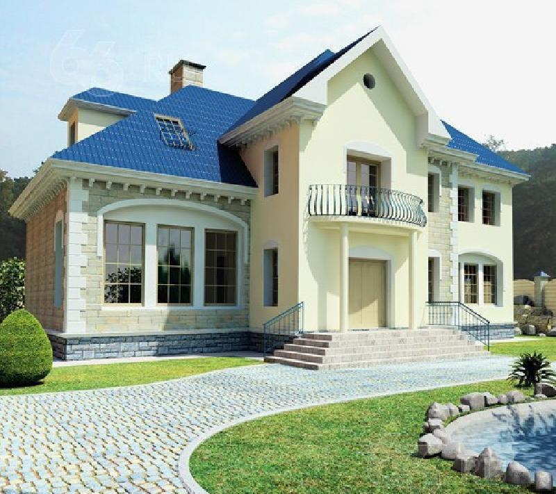 Красивые дома коттеджи фото проекты